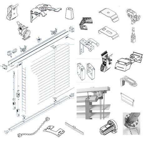 luxaflex silhouette onderdelen reparatie en onderdelen voor zonwering raambekleding