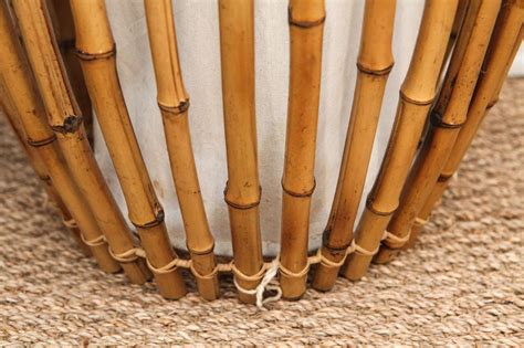 Tall Bamboo Hanging Or Standing Light Fixture At 1stdibs Bamboo Light Fixture