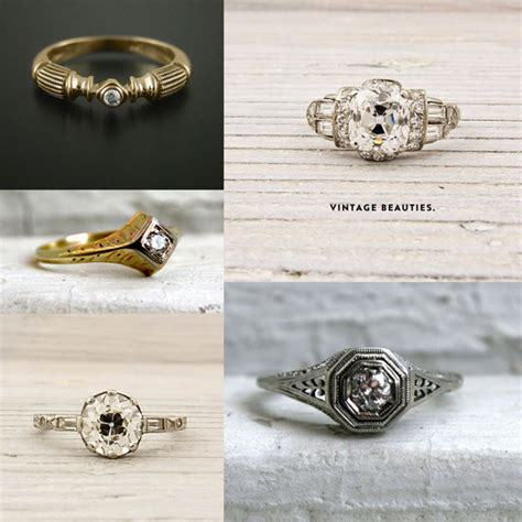 engagement rings to make your sing the etsy