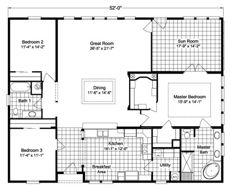 view wellington ii floor plan for a 2067 sq ft palm harbor