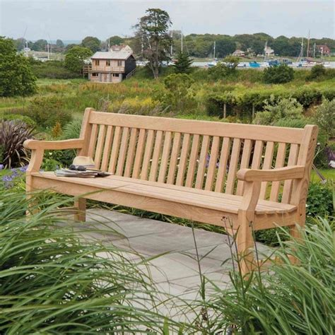 park benches uk alexander rose roble royal park bench 8ft garden street