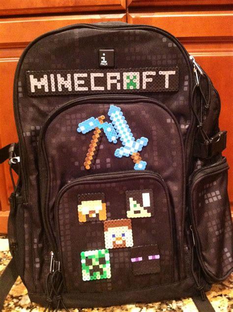 years minecraft backpack school stuff pinterest