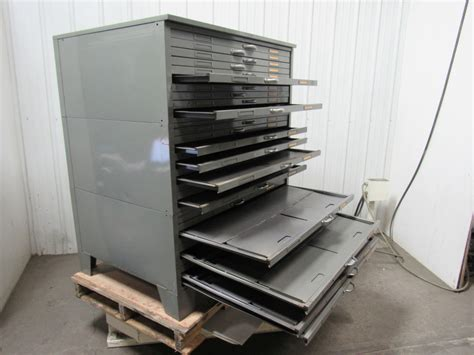 used flat file cabinet for sale hamilton flat file blueprint plans map art architect