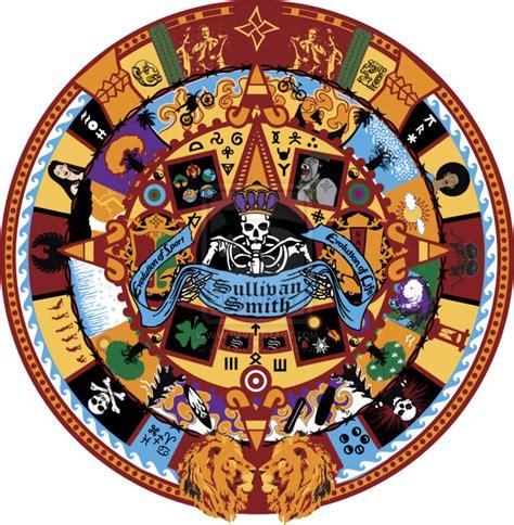 Calendario Azteca Png Best Aztec Calendar Drawings Clipart Best