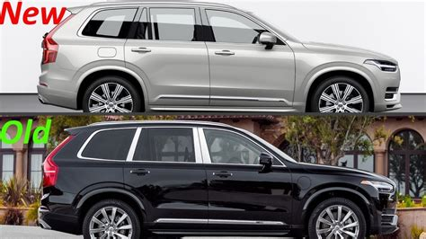 Volvo Xc90 2020 by New 2020 Volvo Xc90 Facelift Vs 2018 Volvo Xc90