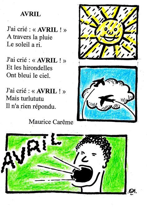 Comptine D Avril En Couleur De Maurice Car 234 Me Dis