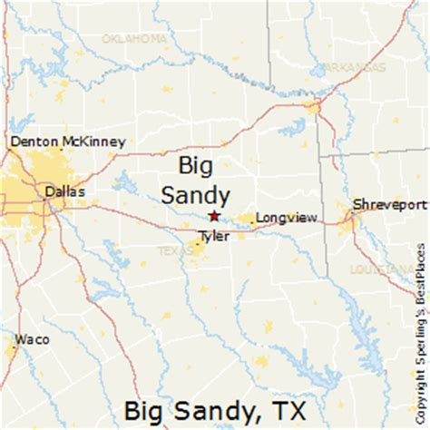 big texas map best places to live in big texas