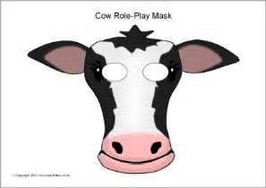 fil a cow mask template printable cow mask bull pictures to pin on