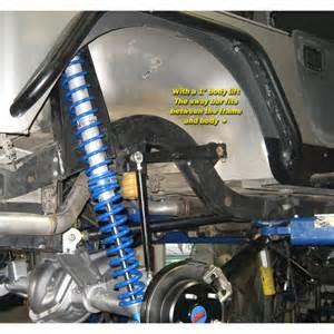 Jeep Tj Sway Bar Genright Jeep Tj Lj Yj Rear Sway Bar Kit