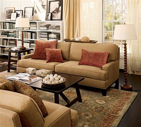 pottery barn livingroom pottery barn living room home pinterest