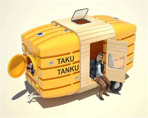 water tank design for house stereotank fukuda design traveling mini house out of water tanks