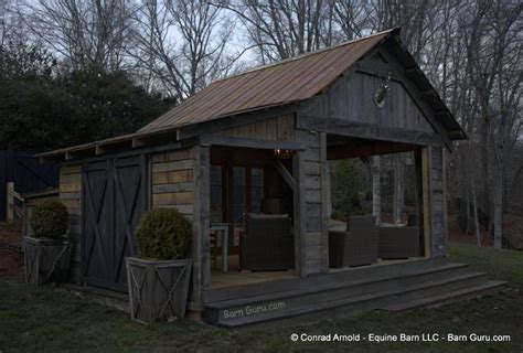 Tiny Cabins Floor Plans rustic barn pavilion 171 country living