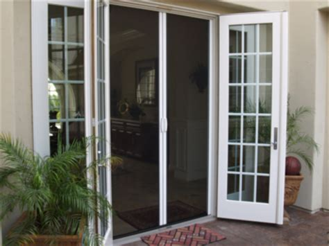 screens for french doors that swing out retractable screen doors casper disappearing