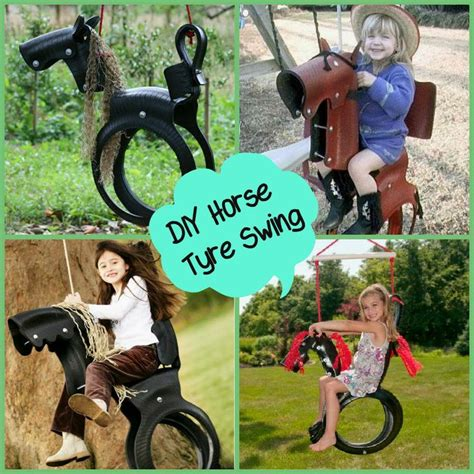 horse tyre swing 1000 images about old tires on pinterest gardens
