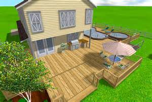 Home Depot Online Deck Design Tool Free Cad Software For Decks Submited Images
