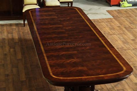 Large Dining Room Table Seats 16 Large And Wide Mahogany Dining Table Seats 14 16