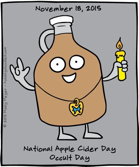 doodle apple calendar november 18 2015 national apple cider day occult day