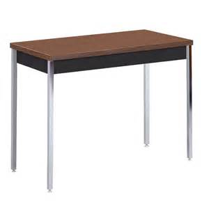 Coffee Table Legs Lowes Shop Edsal Black Walnut Composite Rectangular Coffee Table