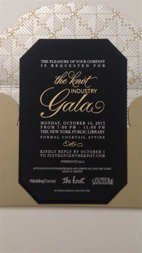 Ceci New York Invitation Reveal; The Knot Industry Gala