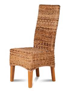 Dining Wicker Chairs Rattan Wicker Dining Chair Abaca Weave Solid Light Mahogany Wood Frame Ebay