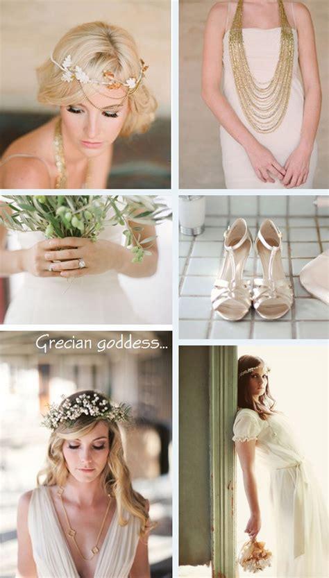 ancient greece theme on grecian goddess wedding and ancient greece