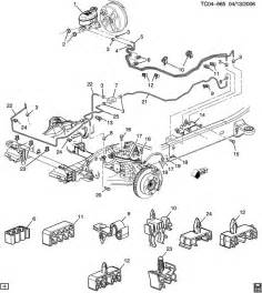2004 Gmc Brake System Diagram 2004 Chevrolet Avalanche Brake Lines Front