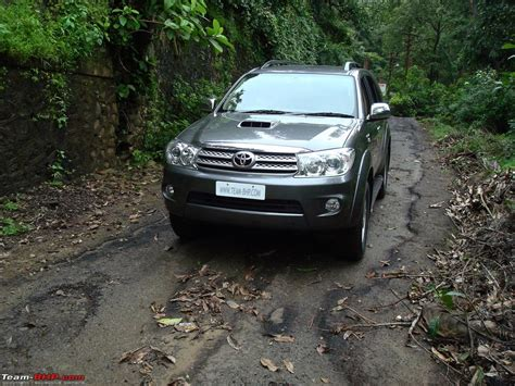 1st team toyota review 1st toyota fortuner team bhp