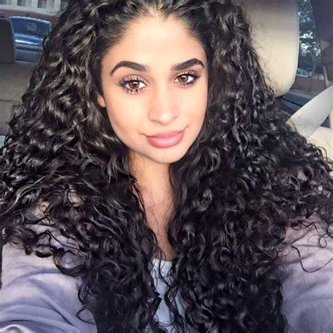 curly bangs on 3b hair type hair crush of the week merian type 3b