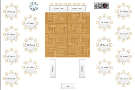 wedding reception layout design floor plan wedding reception unique wedding ideas