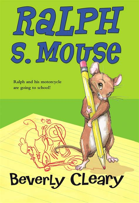coloring page ralph s mouse the mouse and motorcycle book reading level review about
