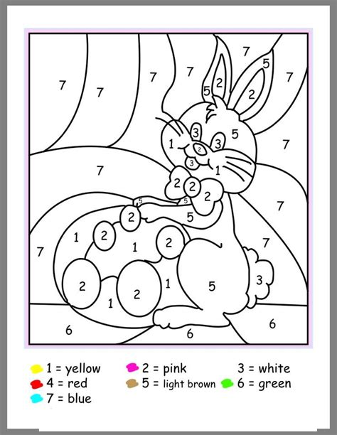 easter coloring pages color by number easter color by number activities 2 171 preschool and