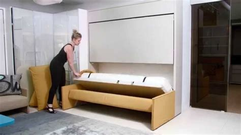 bed that folds into couch kali duo sofa resource furniture wall bed systems