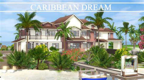 The Sims 3 House Building   Caribbean Dream   Speed Build