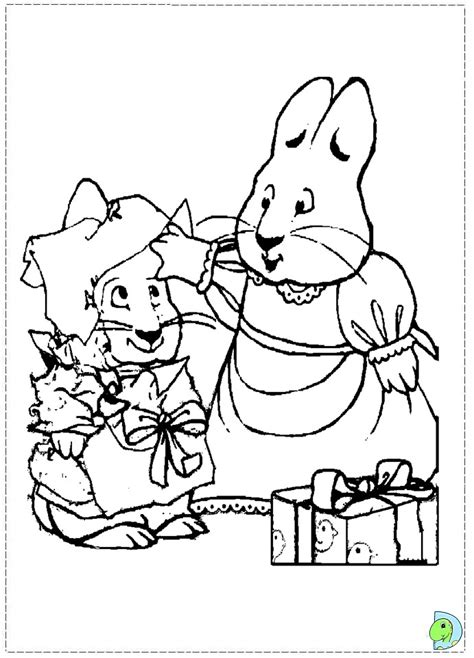 Max And Ruby Coloring Page Az Coloring Pages Max Ruby Coloring