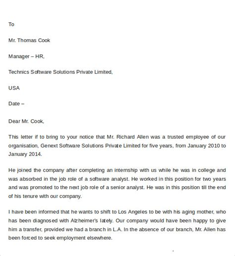 Business Letter Of Recommendation Pdf sle professional letter of recommendation 8