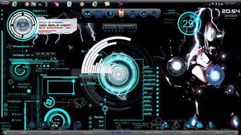 firefox iron man themes iron man windows 7 prototype theme 2011 mp4 youtube