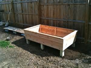 a classic raised garden planter box stark insider