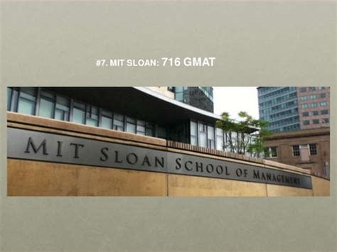 Nyu Mba Gre Scores by Gmat Scores For The Top Ten Mba Business Schools