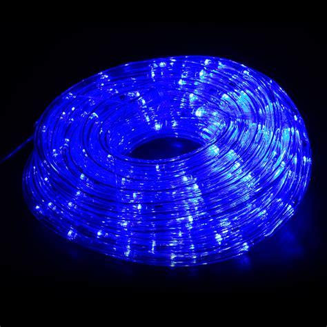 10m led string lights ac220v blue rope ls for
