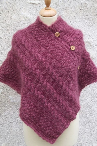 Poncho A Tricoter Modele