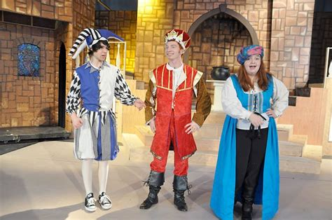 Minstrel Once Upon A Mattress by Familiar Fairytale With A Talented Cast