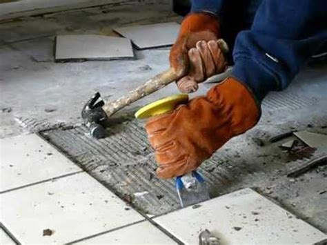 Tile Removal How To Remove Tiles Faster