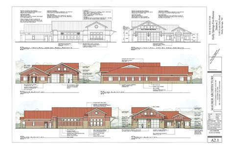 Fire Station Floor Plans by Drawing Of Holly Springs Station 2 Legeros Fire Blog