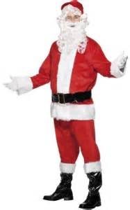 Complete father christmas costume aq024502 karnival costumes