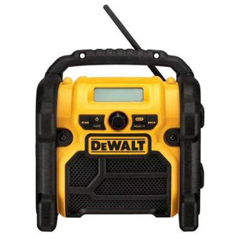 dewalt corded cordless compact worksite radio dcr018 the