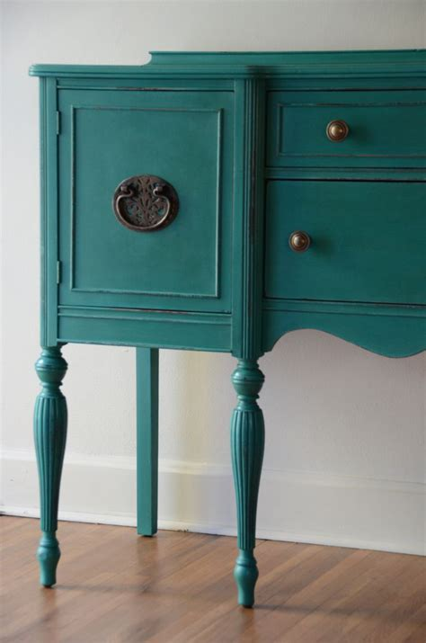 colored furniture painted sideboard buffet or entryway furniture by