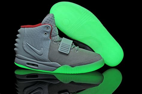 glow in the paint yeezy air yeezy glow in the shoes for sale the river city