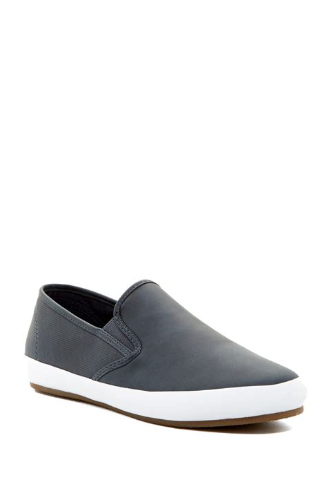 aldo pielungo slip on sneaker in blue for lyst