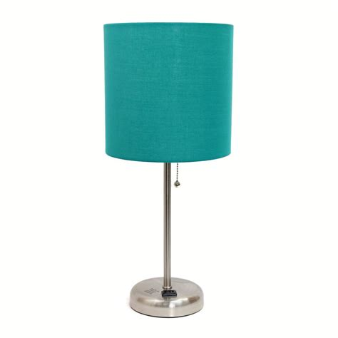 blue table ls bedroom best 28 teal lighting solid teal blue l free shipping