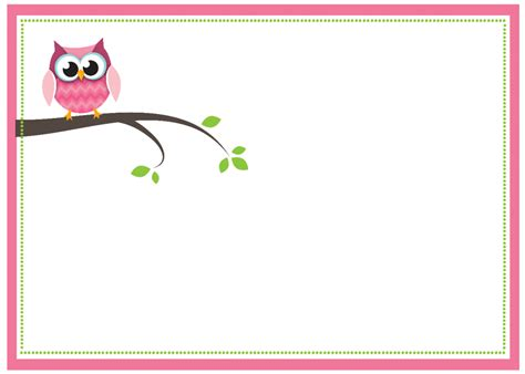 owl invitation template free printable owl baby shower invitations
